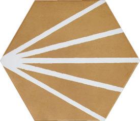KRATIS MOSTAZA LINE WHITE 19,8 x 22,8 cm. | PaloRosa